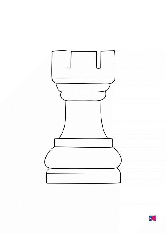 Les échecs - La tour