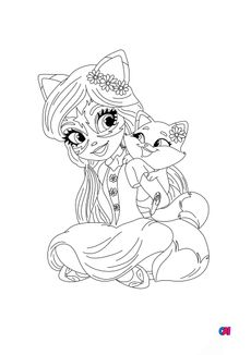 coloriage Enchantimals