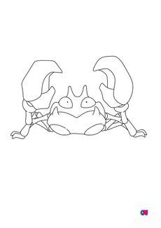 Coloriage 98 - Krabby