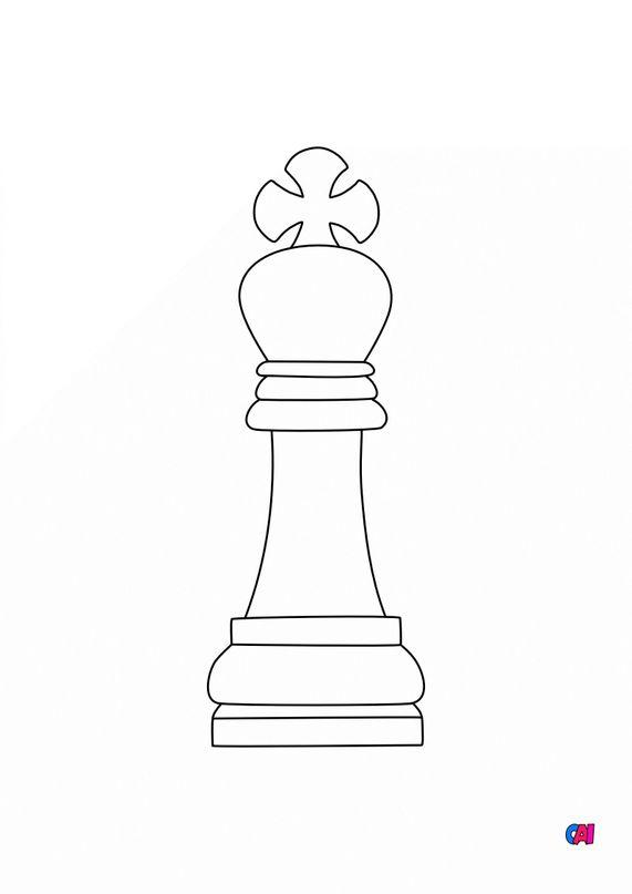 Les échecs - Le Roi