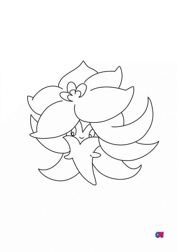 Coloriage Pokémon - 829 - Tournicoton