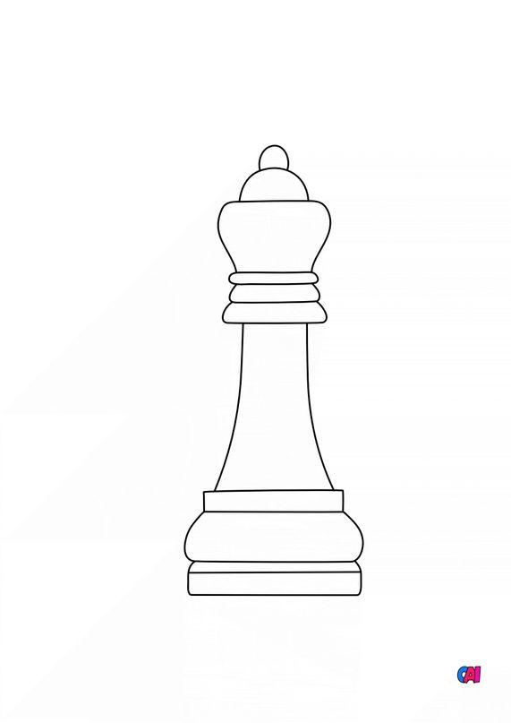 Les échecs - La dame