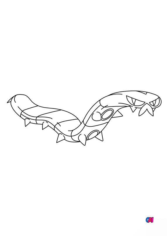 Coloriage Pokémon - 850 - Grillepattes