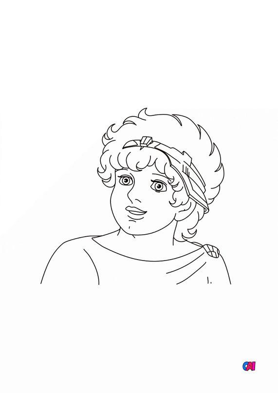 Coloriage Ulysse 31 - Télémaque