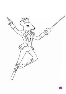 Coloriage Le roi des souris
