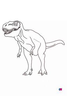 Coloriage T-Rex