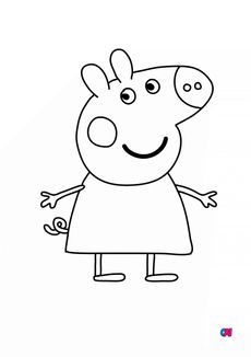 Coloriage Peppa