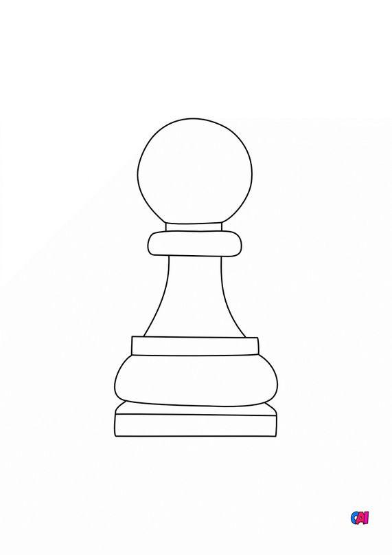 Les échecs - Le pion