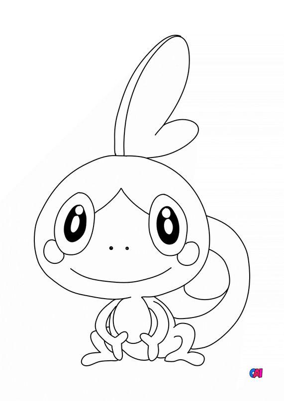 Coloriage Pokémon - Larméléon
