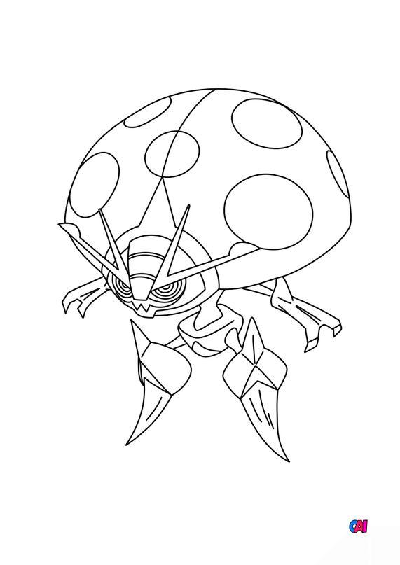 Coloriage Pokémon - 826 - Astronelle