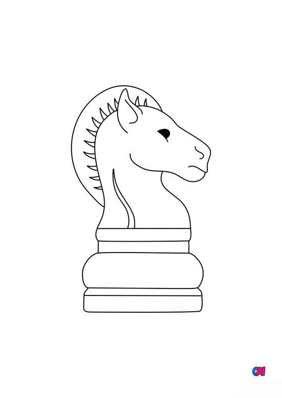 Les échecs - Cavalier