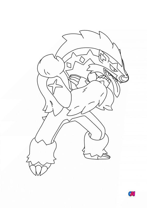 Coloriage Pokémon - 862-Ixon