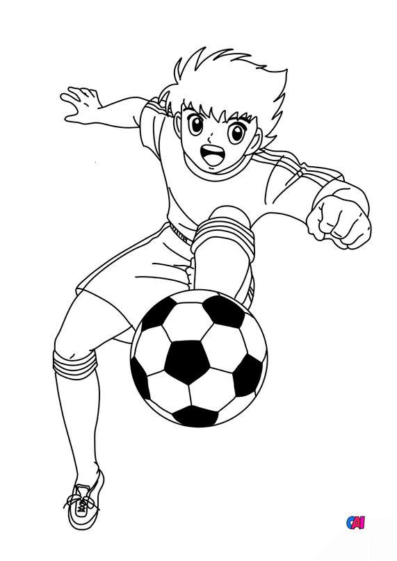 Coloriage Football A Imprimer Olive Et Tom