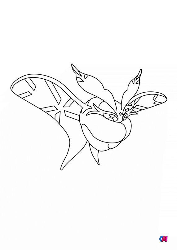 Coloriage Pokémon - 873 - Beldeneige