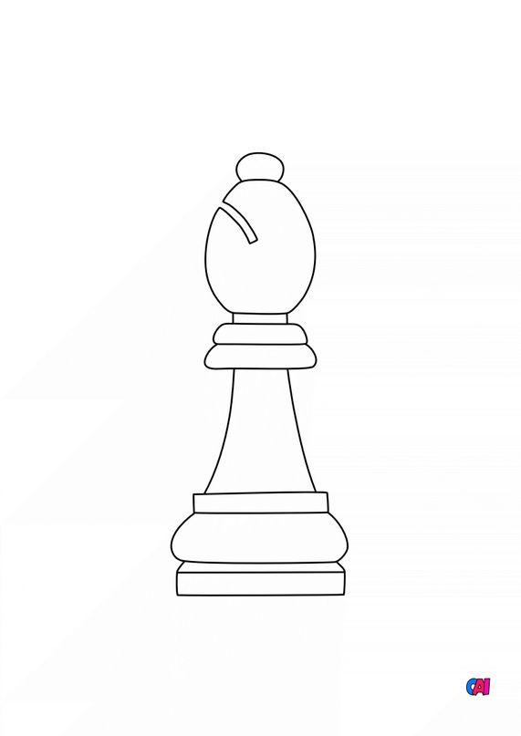 Les échecs - Le fou