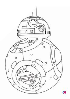 Coloriage BB8