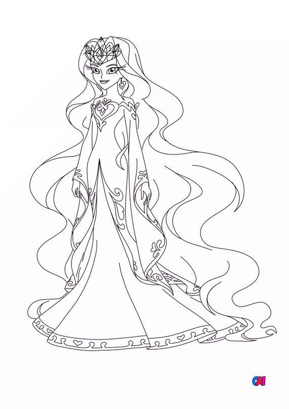 Coloriage Lolirock - Reine d'Ephedia