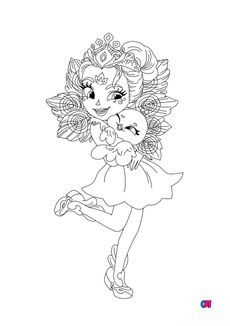 Coloriage Patter Paon et Flap