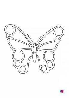 Coloriage Un papillon