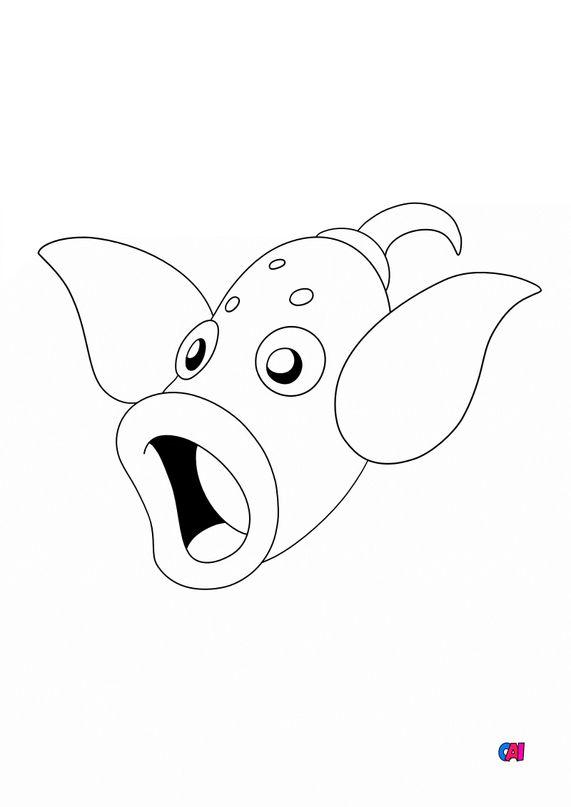 Coloriage Pokémon - 70 - Boustiflor