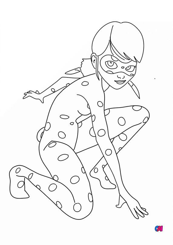 Coloriage Miraculous Ladybug - Lady bug