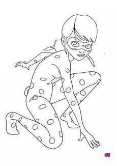 Coloriage Lady bug