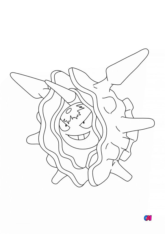 Coloriage Pokémon - 91 - Crustabri