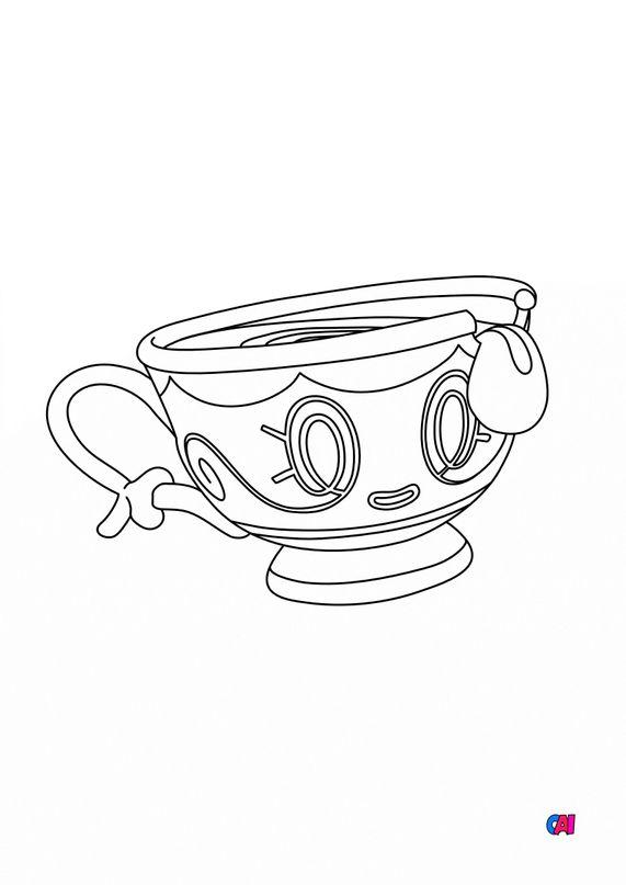 Coloriage Pokémon - 854 - Théffroi